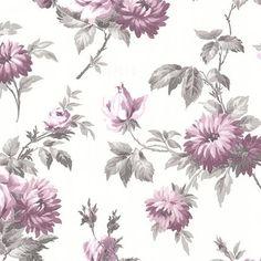 Charlotte Purple Vintage Rose Toss