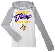 f87b6d190 NFL Minnesota Vikings Girls  Lightweight Hoodie Pullover Tampa Bay  Buccaneers