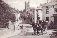 Bridgetown Totnes old pc used Valentines in Collectables, Postcards, Topographical: British Bridgetown, Devon And Cornwall, Old Photos, Worlds Largest, Street View, Valentines, Landscape, Places, Painting