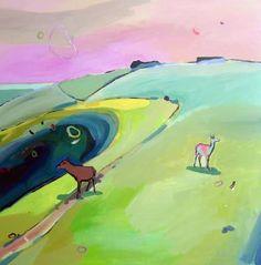"Saatchi Art Artist Rachael Adams; Painting, ""Stockholm Syndrome"" #art"
