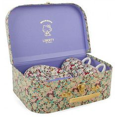 Lovely Little Liberty London Finds For Girls: She'll have the chicest tea party ever with Liberty's Hello Kitty tea set ($20).