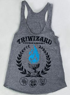 Harry Potter Shirt Tanktop Racerback TRIWIZARD von MyChiClothing