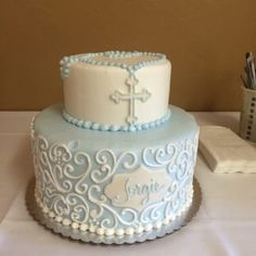 Sons baptism cake.. I was as usual, very pleased - Yelp