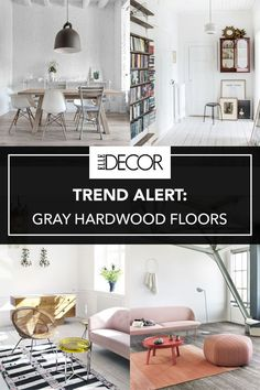 9 Gray Hardwood Floors That Would Look Amazing In Your Home