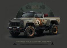 Фантастические концепты советских автомобилей — AMSRUS