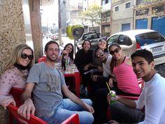 Gilmara, Roger, Fernanda, Paula, Nay, Allan, Mayra e Carlinhos...