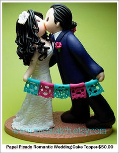 mexican themed wedding cake toppers custom cake topper mexican theme 17284