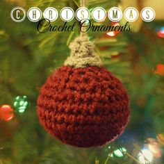 This free pattern is awesome! I am making these crochet Christmas ornaments with yarn remnants. A great project for my tree, and also a great holiday gift!