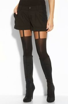 Faux Thigh-Highs | The Internet Says These Are the Best Black ...