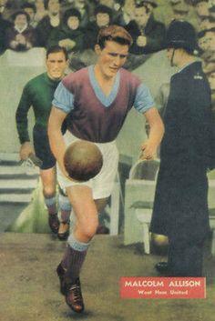 Football Photo>MALCOLM ALLISON West Ham United 1950s