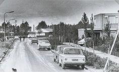 Doortrekking van de Galgenweg 1974