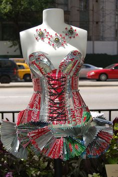 Coke Can Dress