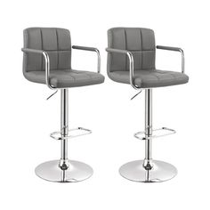 Metro Lane Höhenverstellbares Barstuhl-Set & Bewertungen | Wayfair.de Barber Chair, Barcelona, Furniture, Home Decor, Products, Artificial Leather, Counter Height Stools, Armchairs, Ad Home