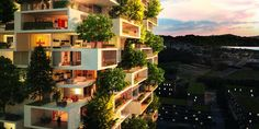 Switzerland's tree-covered high-rise - Business Insider