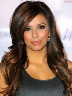 Dark Hair With Carmel Highlights - Bing Images