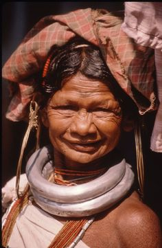 Gadaba Tribal Woman, Orissa, India