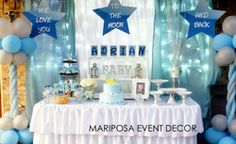 """Baby Shower """"We Love You To the Moon and Back """" 