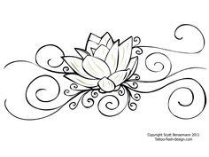 Tattoo Flower Lotus Design For Women  Background Better