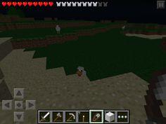 Baby chicken. Baby animals in 0.6.0 minecraft PE version