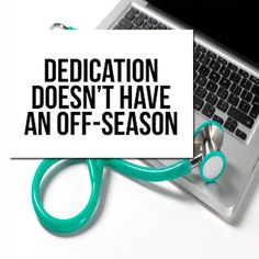 dedication never goes off-season. #motivation #MCAT #premed