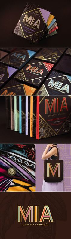 MIA Chocolate is Where Deliciousness Meets Purpose — The Dieline   Packaging & Branding Design & Innovation News