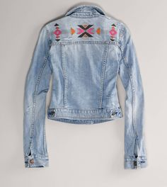 AE Embroidered Denim Jacket- How many denim jackets are too many?