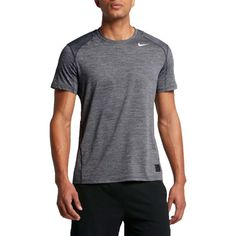 b7c12bd337cb Nike Men s Pro Cool Heathered Fitted T-Shirt