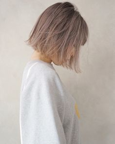 Pin by Cherilynn on Hair in 2019 Pin by Cherilynn on Hair in 2019 Bob Hair Color, Hair Color Asian, Asian Hair, Cute Hairstyles For Short Hair, Bob Hairstyles, Curly Hair Styles, Natural Hair Styles, Hair Arrange, Golden Hair