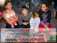 """Dopo 27 anni dall'incidente di Chernobyl, centinaia di famiglie e di bambini vivono ancora nella """"zona morta"""" intorno alla centrale, bevendo e mangiando acqua e cibo radioattivi. FIRMA ANCHE TU per chiedere alla Commissione europea di fare finalmente qualcosa e portarli #viadaChernobyl! Qui -> www.change.org/viadachernobyl"""