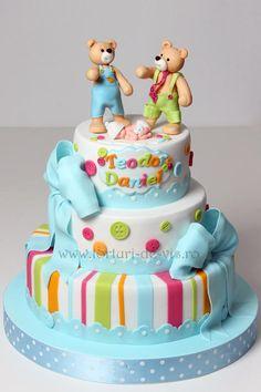 Baby and teddy bears - Cake by Viorica Dinu