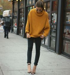 sueter oversized tricot skinny