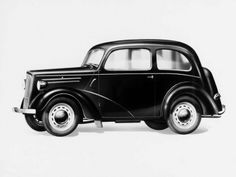 Ford Anglia Tudor Saloon (E04A) '1939–48
