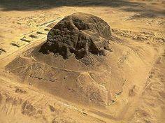 Pyramid Ruins of Senusret II at Illahun, Egypt