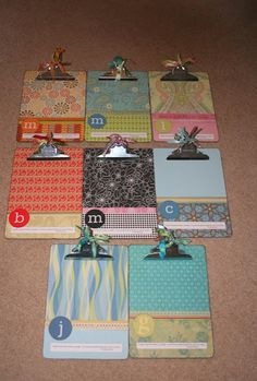Pinner says... I have been making these clipboards for my daughters teachers since they started school.  they love them  use them daily. 10 DIY CHRISTMAS GIFTS FOR TEACHERS