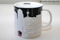 Melbourne, Sydney, Beijing China, Brunei, Starbucks City Mugs, Brisbane Australia, Seoul, Coffee Mugs, Tableware