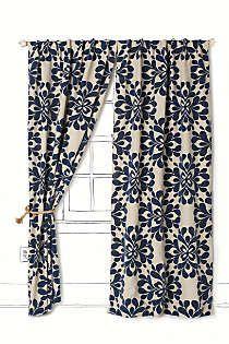 Anthropologie - Coqo Floral Curtain