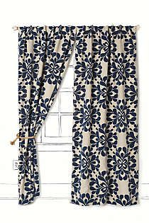 Anthropologie - Coqo Floral Curtain