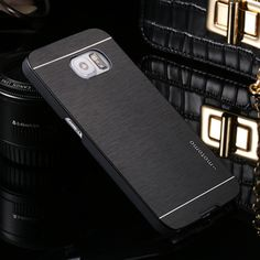Deluxe Branded Aluminum Metal Brush Hard Back Cover Case for Samsung Galaxy S6 S7 Edge Plus S5 S4 S3 mini Note 3 4 5 7 i9082