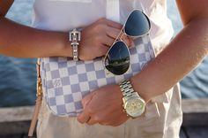 Louis Vuitton Pochette Damier Azur