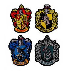 High Quality 100% embroidered Harry Potter Hogwarts House Crest Patches. Buy individually or as a set. Patches measure 3 x 2.25. Patch edges are super clean and will not fray. These are the perfect patches for any Harry Potter costume, cosplay or for the Harry Potter fan in your life.