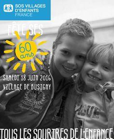 Retour en images sur la célébration des 60 ans de SOS Villages d'Enfants - 60 années de passions, d'engagements et d'enfances, ça se fête. Samedi 18 juin, le village d'enfants SOS de Busigny a accueilli la célébration des 60 ans de SOS Villages d'enfants.