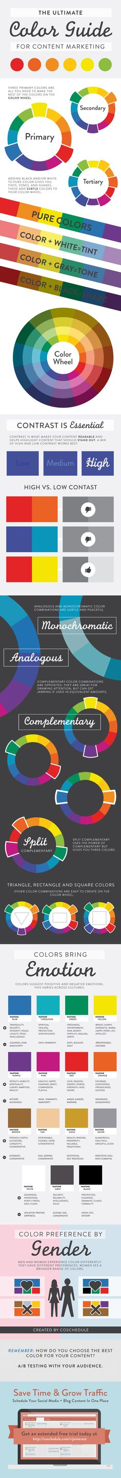 The Ultimative Color Guide for Content Marketing