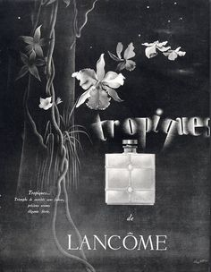 Lancôme 1938 Tropiques Pérot