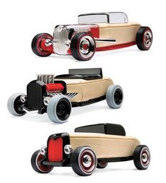 Set of 3 Automoblox® Mini Hot Rods