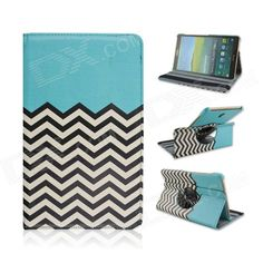 Wave Pattern 360' Rotary PU Leather Flip Open Case w/ Stand for Samsung Galaxy Tab S 8.4 T700 Price: $11.91