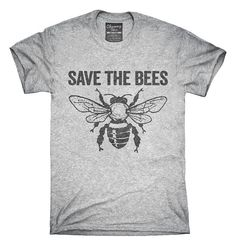 Save The Bees Colony Collapse T-Shirt, Hoodie, Tank Top – Chummy Tees California Style, Northern California, California Fashion, Looks Style, My Style, Curvy Style, Save The Bees, Look At You, Bee Keeping