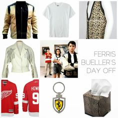 Ferris Bueller Group Costume mood board - more easy costume ideas at radicalpossibility.com!