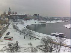 winter in Krakow Poland