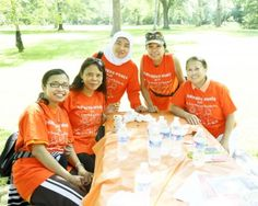 Indonesian Women walk for Friendship and Solidarity