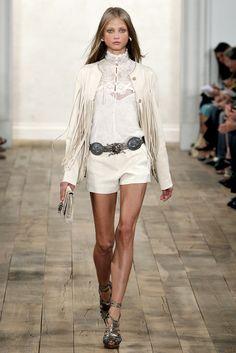 Ralph Lauren Spring 2011 Ready-to-Wear Fashion Show - Anna Selezneva